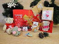 """Новогодний подарочный набор для любимой  """"Santa Gift"""" с именным поздравительным письмом"""