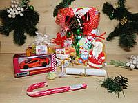 """Новогодний детский подарочный набор """"Happy Christmas Cool car"""" с поздравительной телеграммой"""