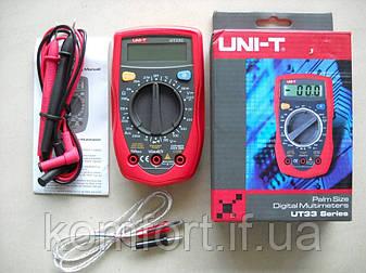 Мультиметр цифровой UT33C тестер, фото 2