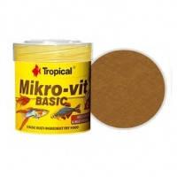 Tropical MIKROVIT BASIC основной микротонкий корм для мальков, 50мл