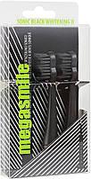 Насадки для звуковой гидроактивной зубной щетки Megasmile Black Whitening ІІ Ink Black