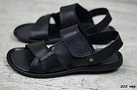 Мужские кожаные сандалии Cardio, фото 1