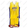 Детская баскетбольная форма Лос-Анджелес Лейкерс №24 желтая