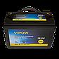Аккумулятор Lifepo4 SA180 12.8V 100A (VIPOW), фото 2