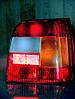 Стекло заднего фонаря Славуты 681-3716010. Стекла фонарей задних ЗАЗ-1103 68.3716010
