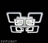 Люстра стельова 5543/4+4 WH LS Svitlight, фото 1
