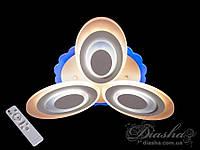 Сверхъяркая светодиодная люстра с цветной подсветкой и диммером W MX2298/3, фото 1