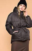 Женская серая куртка MR520 MR 202 2216 0819 Dark Gray