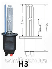 Ксеноновая лампа Н3 (1шт) 4300/5000/6000K