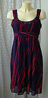 Платье женское легкое летнее миди бренд George р.46