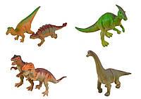 """Животные резиновые """"Динозавры"""" ассорти, /12/432/"""