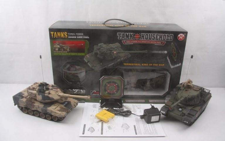 Танк на радіокеруванні з мішенню, на радіокеруванні (Tank Household)