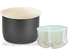 Чаша для мультиварки MAGIO, 5 л. + форма для йогурта