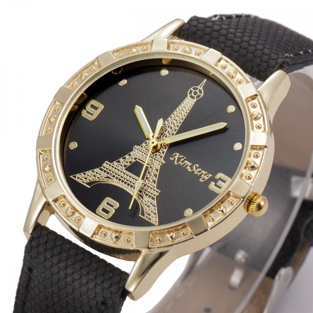 Часы женские наручные Eiffel Tower black