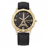 Часы женские наручные Eiffel Tower black, фото 2