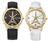 Часы женские наручные Eiffel Tower black, фото 5
