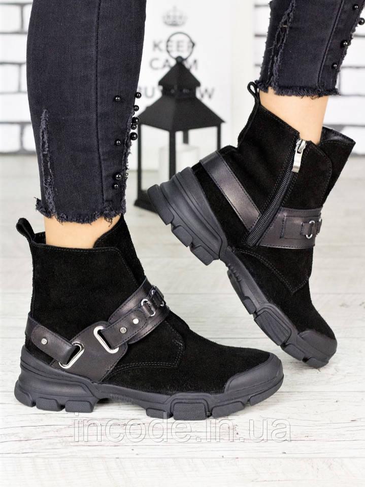 Ботинки замшевые Forever 7210-28