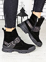 Ботинки замшевые Forever 7210-28, фото 1