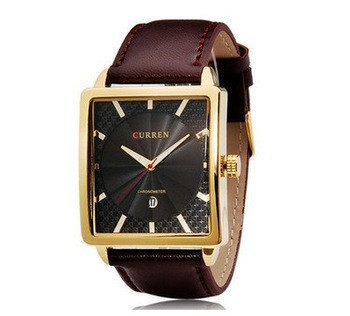 Часы мужские Curren Senator gold black