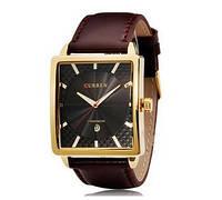 Часы мужские Curren Senator gold black, фото 1