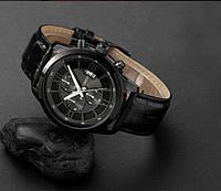 Часы мужские Curren Touareg black, фото 1