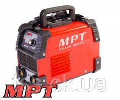 MPT  Сварочный аппарат инверторного типа 20-140 А, 1.6-3.2 мм, аксесс. 7 шт, Арт.: MMA1405