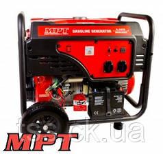 MPT  Генератор бензиновый 5,5 кВт, 389 см3, возд.охл., эл.+ручной стартер, бак 25 л.,, Арт.: MGG5503E