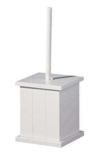 Деревянный держатель для туалетной щетки Premier Housewares - белый