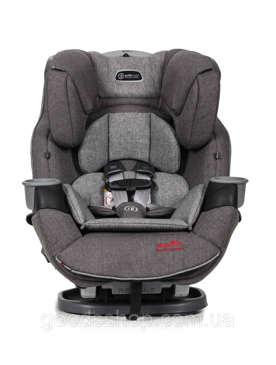 Evenflo® автокресло SafeMax Platinum цвет - Gray (группа от 2,2 до 54.4 кг)