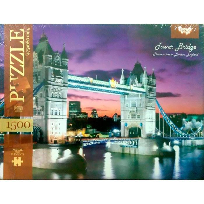 Пазл 1500 элементов Тауэрский мост Лондон