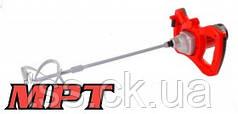 MPT  Миксер строительный PROFI, 1300 Вт, 0-700 об/мин, хвостовик М14, аксесс. 4 шт., Арт.: MMX1303
