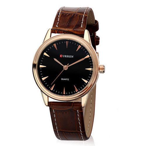 Часы мужские Curren Classic brown-gold-black