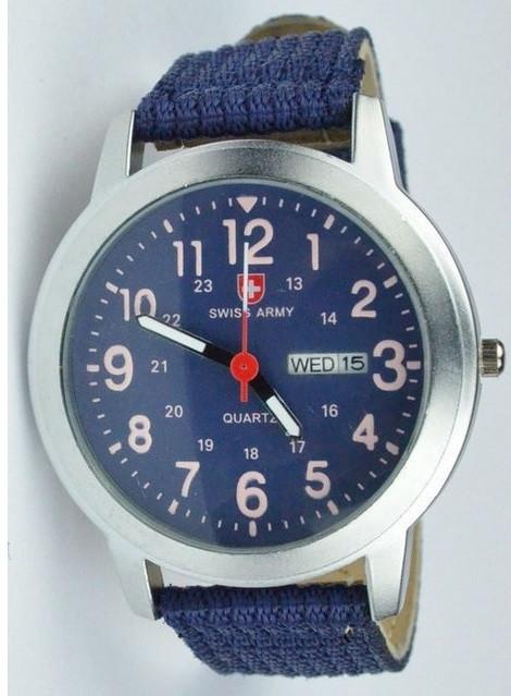 Часы SWISS ARMY Military Style blue