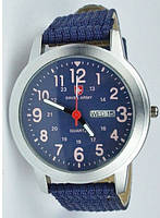 Часы SWISS ARMY Military Style blue, фото 1