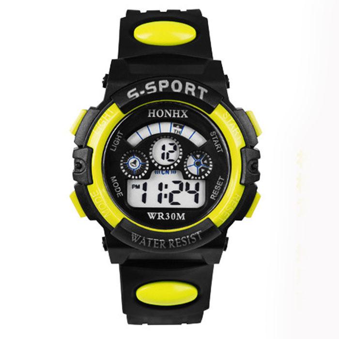 Часы мужские наручные S- SPORT Yonix yellow