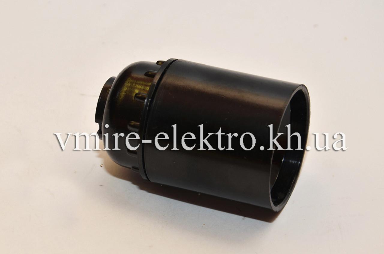 Патрон электрический подвесной карболитовый Е 27 латунь (Украина)