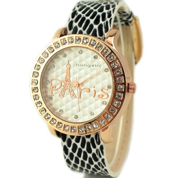 Часы женские Paris Castle black - white