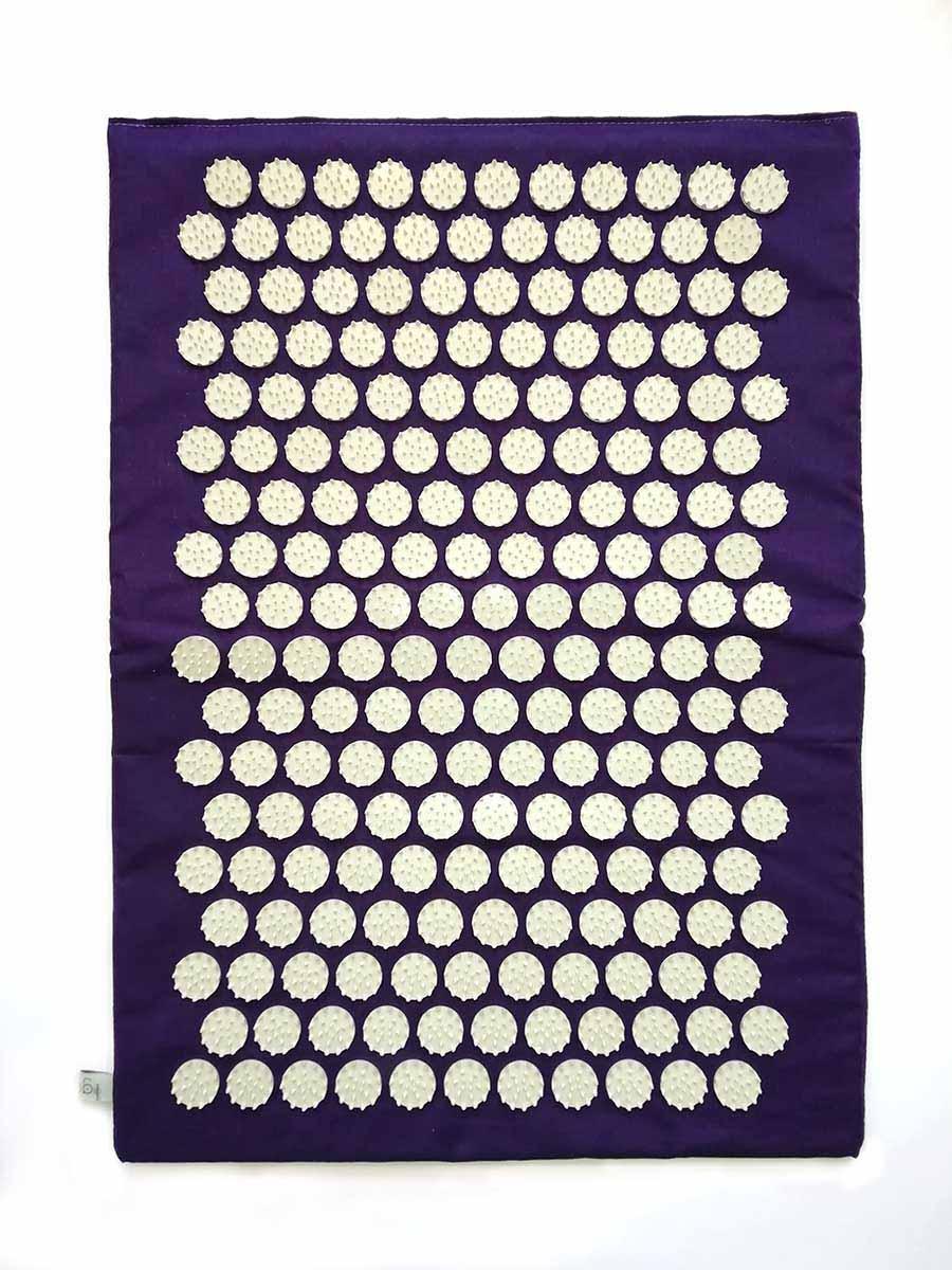 """Коврик массажно-акупунктурный """"Релакс"""" 55 х 40 см фиолетовый"""