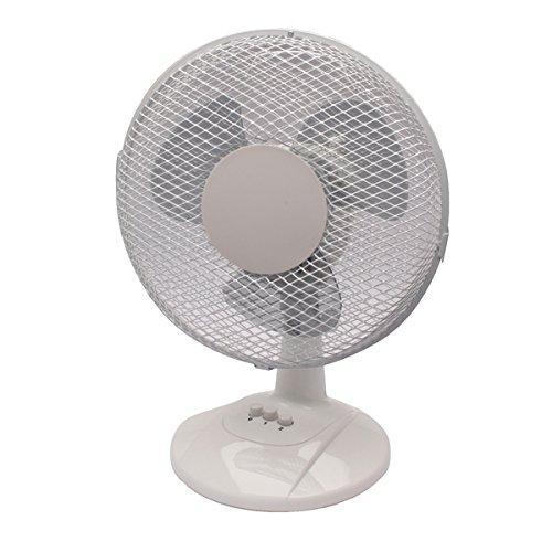Настольный вентилятор Q Connect 230-мм / 9-дюймовый 2-скоростной