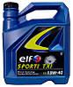 Моторное минеральное масло ELF(эльф) 15w40 Sporti TXI 5л.