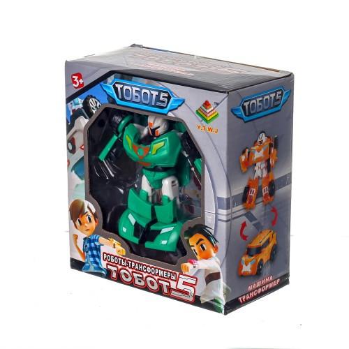 Тоботы-трансформер, робот с грозным оружием и машинка 339-12