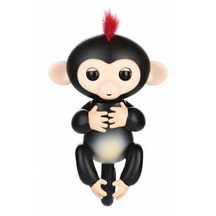 Интерактивная обезьянка Happy Monkey Black