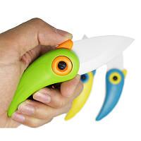 Нож  керамический Parrot  green, фото 1