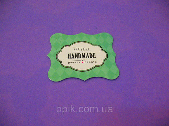 """Набор бирок """"Hand made"""" 5 шт., фото 2"""
