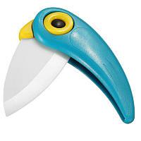 Нож керамический Parrot blue, фото 1