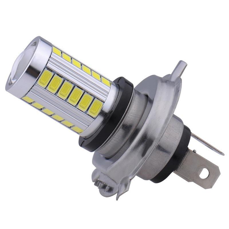 Автолампа светодиодная H4 - 33 SMD5630 + Линза