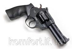 Револьвер под патрон флобера Safari РФ 441М с рукояткой из резины