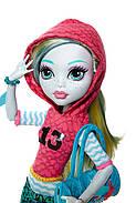 Кукла Монстер Хай Лагуна Блю Первый день в школе Monster High Signature Look Core Lagoona Blue Doll, фото 4