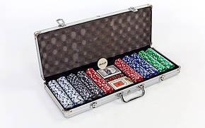 Покерный набор 500фишек IG-2115, фото 2