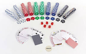 Покерний набір 500фишек IG-2115, фото 2